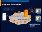 edge platform basics