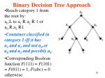 binary decision tree approach2