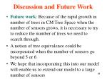 discussion and future work1