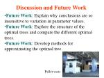 discussion and future work4