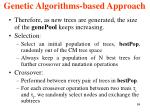genetic algorithms based approach2