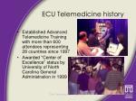 ecu telemedicine history2