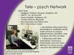 tele psych network