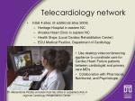 telecardiology network