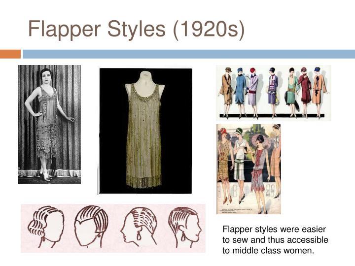Flapper Styles (1920s)