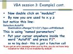 vba session 3 example1 cont