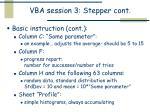 vba session 3 stepper cont1
