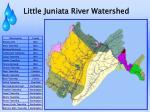 little juniata river watershed