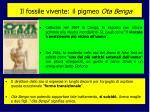 il fossile vivente il pigmeo ota benga