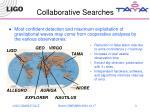 collaborative searches