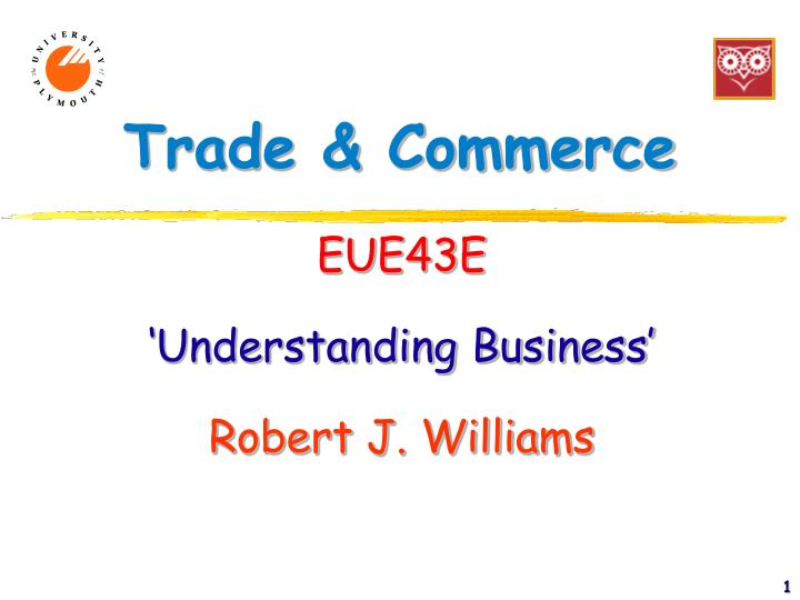 trade commerce n.