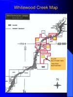 whitewood creek map