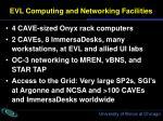 evl computing and networking facilities