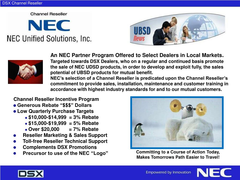 DSX Channel Reseller