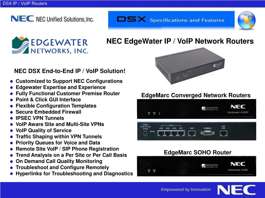 DSX IP / VoIP Routers