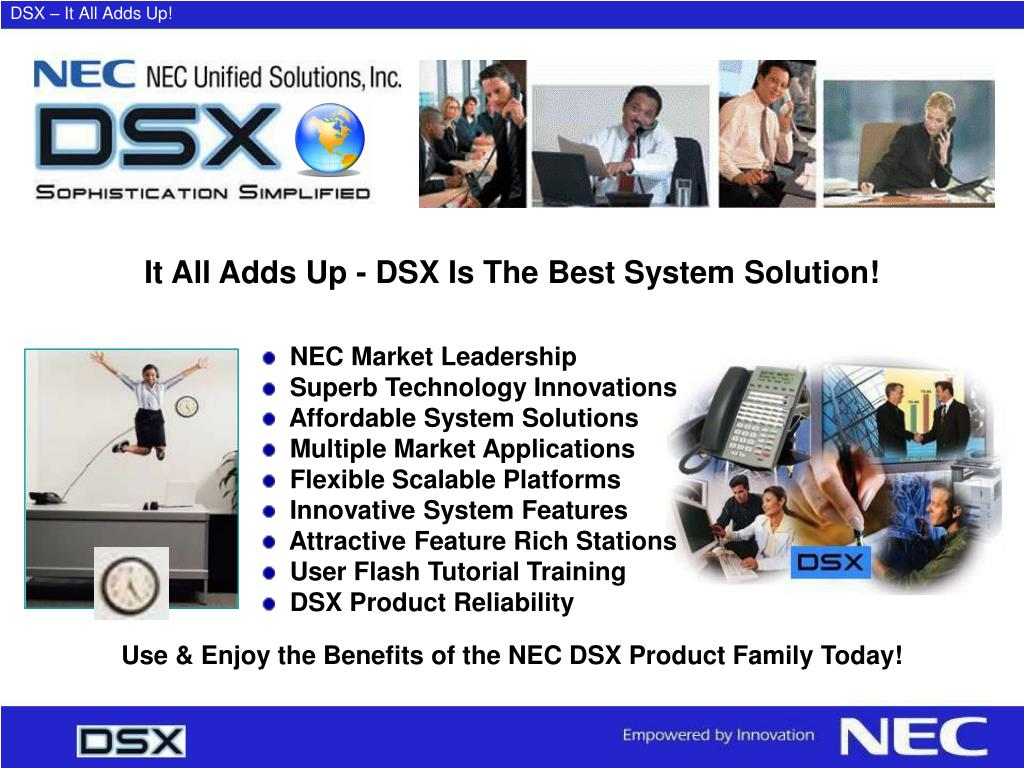 DSX – It All Adds Up!