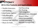 all in one features and applications