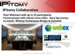 ipitomy collaboration