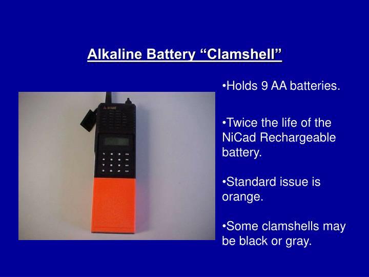 "Alkaline Battery ""Clamshell"""