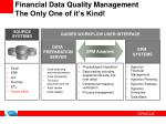 financial data quality management the only one of it s kind