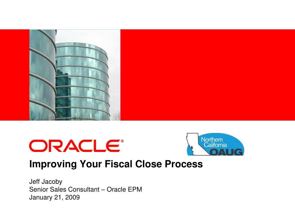 improving your fiscal close process l.