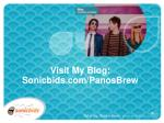 visit my blog sonicbids com panosbrew