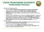 state franchising authority franchising process1
