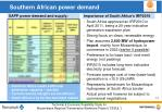 southern african power demand