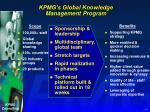kpmg s global knowledge management program