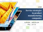 service strategies in product manufacturing companies