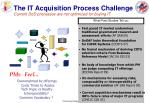 the it acquisition process challenge current dod processes are not optimized for buying it
