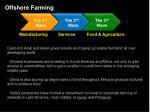 offshore farming