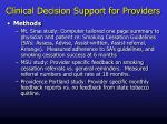 clinical decision support for providers5