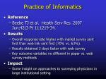 practice of informatics1