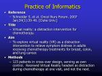 practice of informatics6