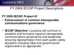 fy 2009 iecgp project descriptions1