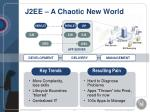 j2ee a chaotic new world