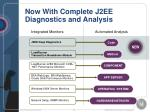 now with complete j2ee diagnostics and analysis