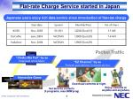 flat rate charge service started in japan