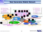 next generation mobile network