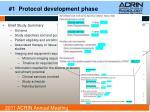 1 protocol development phase1