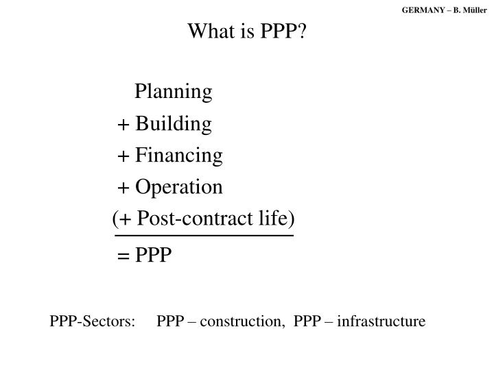 what is ppp n.