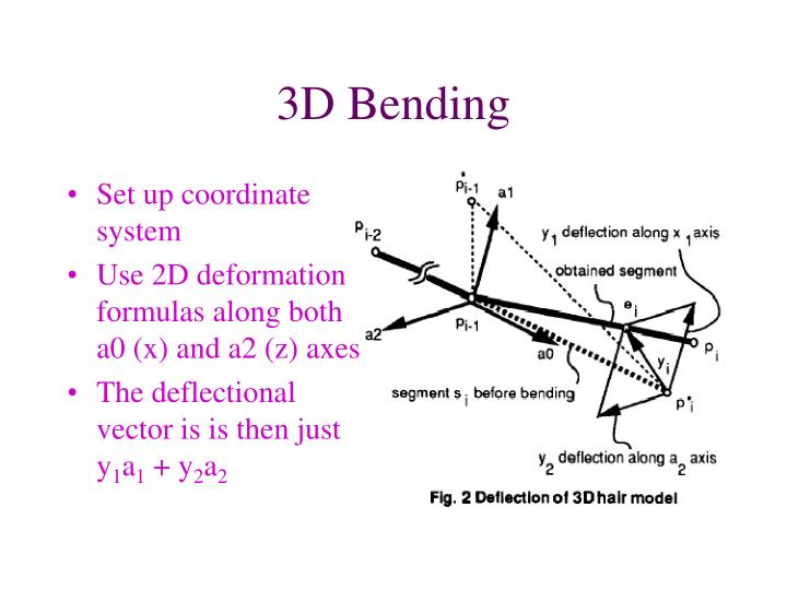3D Bending