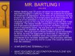 mr bartling i values