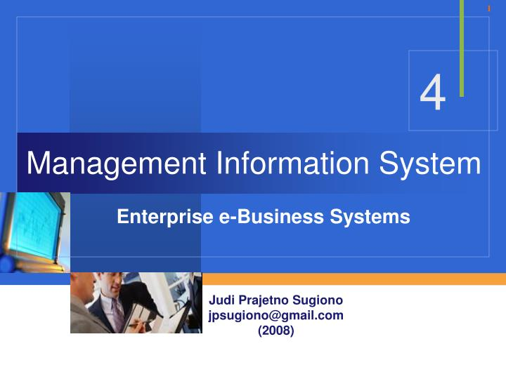 1 discuss your recommendation for e business systems and enterprise business systems needed to suppo These systems themselves are being interconnected with enterprise application integration (eai) software so that the business users of these applications can more easily access the information resources they need to support the needs of customers, suppliers, and business partners.