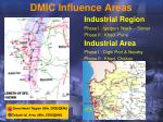 dmic influence areas