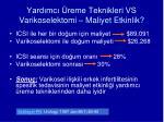 yard mc reme teknikleri vs varikoselektomi maliyet etkinlik