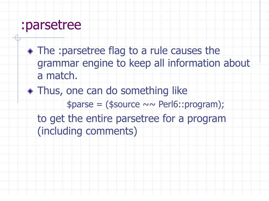 :parsetree