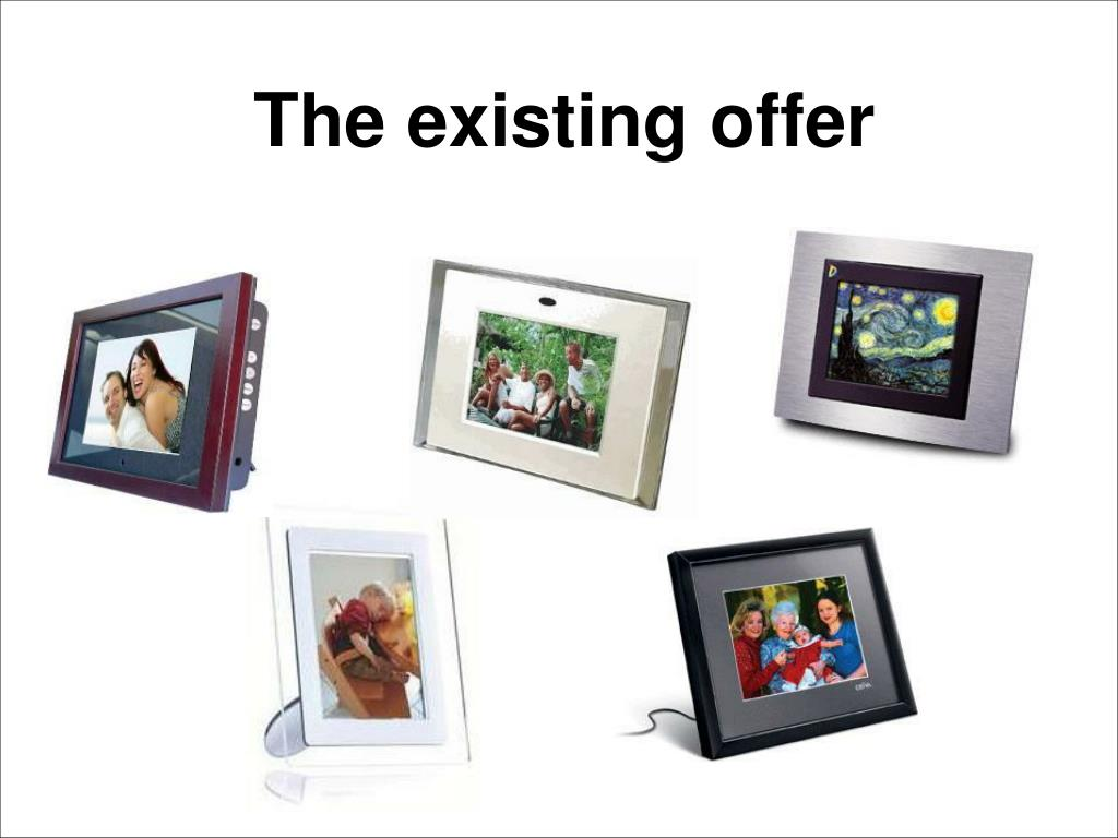 The existing offer