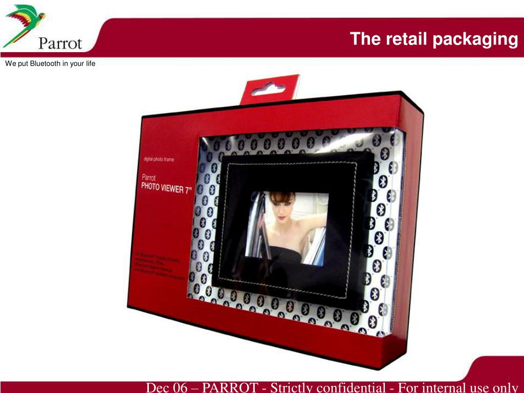 The retail packaging